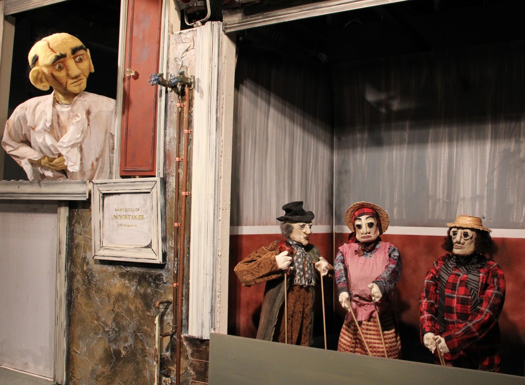"Scenes from ""Frankenstein: The Puppet Opera"" courtesy of Craig Joseph."