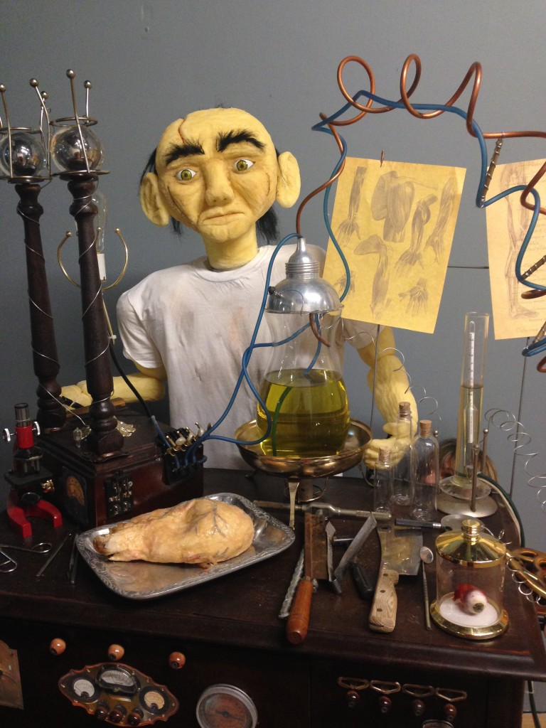 Frankenstein in lab