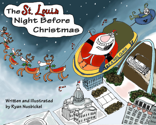 """Ryan Nusbickel talks about """"The St. Louis Night Before Christmas."""""""