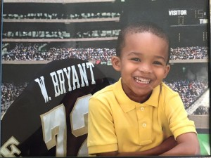 One of Wes Bryant's greatest inspirations is his 3-year-old son, NAME?