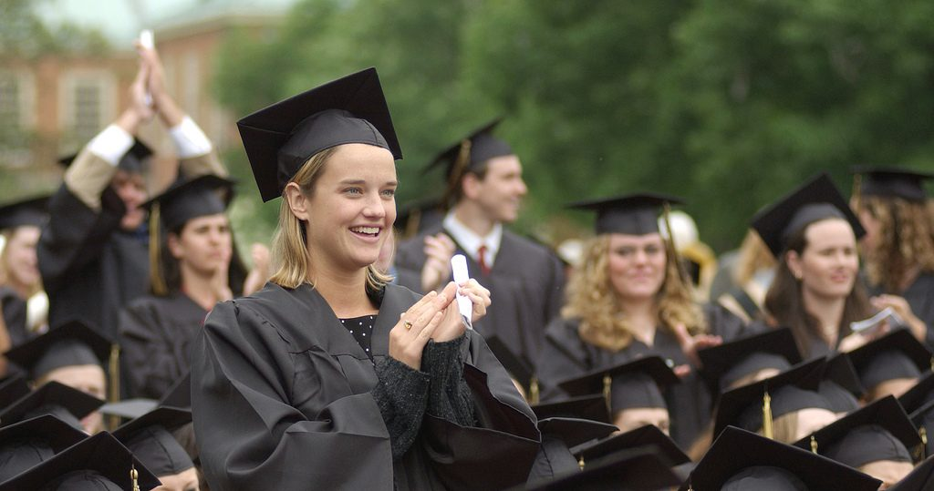 Wake Forest University commencement, Monday, May 19, 2003.