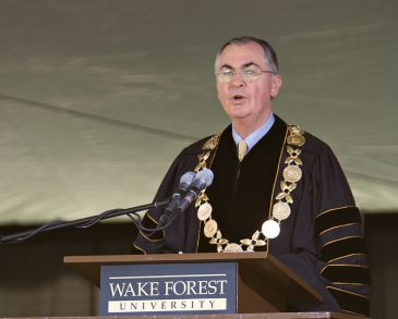 Wake Forest President Nathan O. Hatch