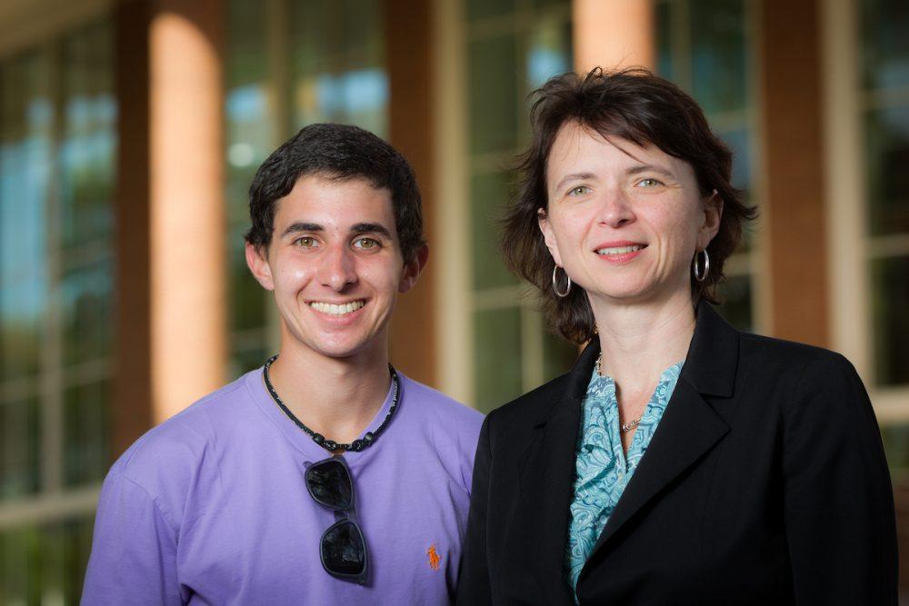 Michelle Steward (Business) and Brad Vonick (Psychology major)