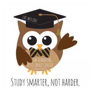LAC Owl Mascot - Study Smarter Not Harder