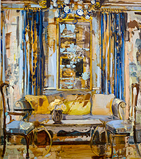 Yellow Pillow by Page Laughlin