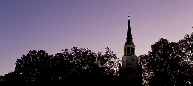 Wait Chapel in the dawn light