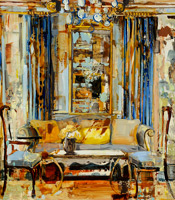 """The painting """"Yellow Pillow"""""""