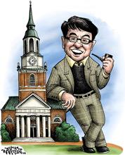 Drawing of Ken Zick