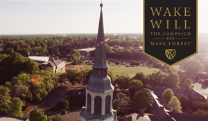 Wake Will: The Campaign for Wake Forest