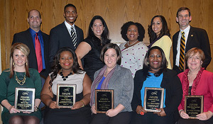 Award winners at the conference