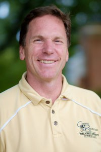 Max Floyd, the director of recreational sports at Wake Forest University, on campus on Monday, September 22, 2014.