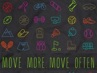 Move more Move Often