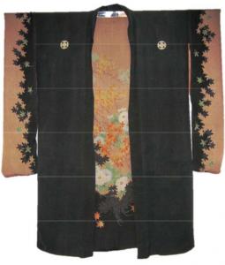 black-and-brown-kimono