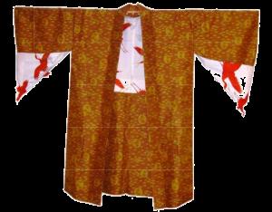 orange-and-red-silk-coat-japan