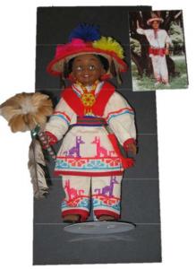 huichol shaman doll