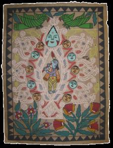 nepal womens painting