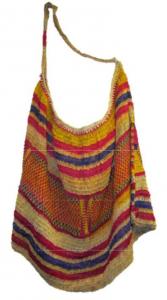 woven colorful bag