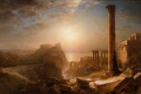 """Syria by the Sea,"" Frederic Edwin Church, 1873."